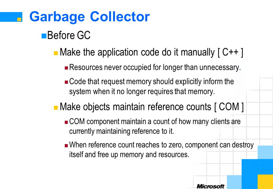 Garbage Collector Before GC