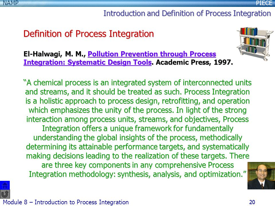 Definition of Process Integration