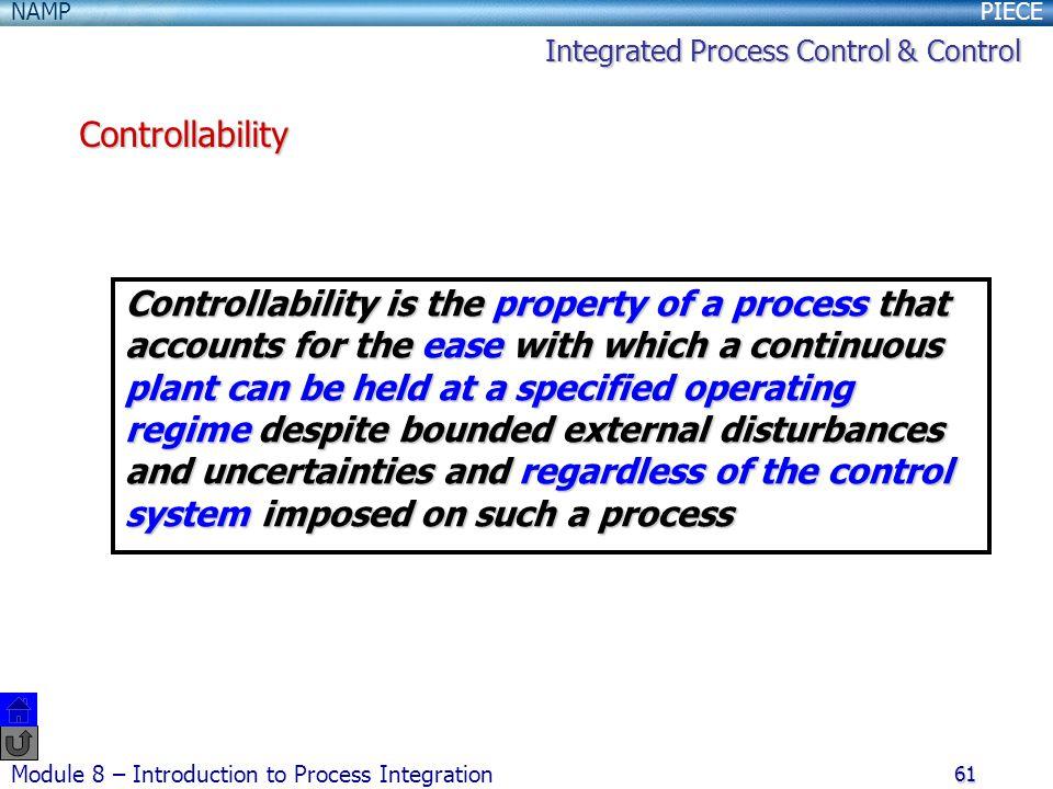 Integrated Process Control & Control