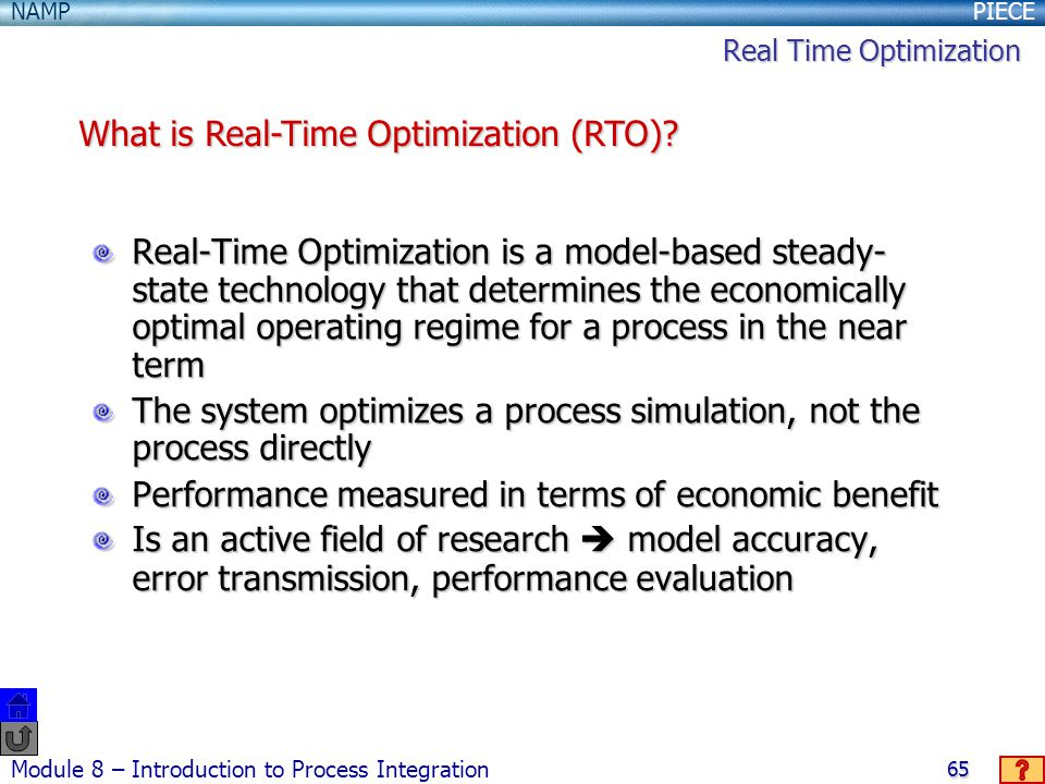 What is Real-Time Optimization (RTO)