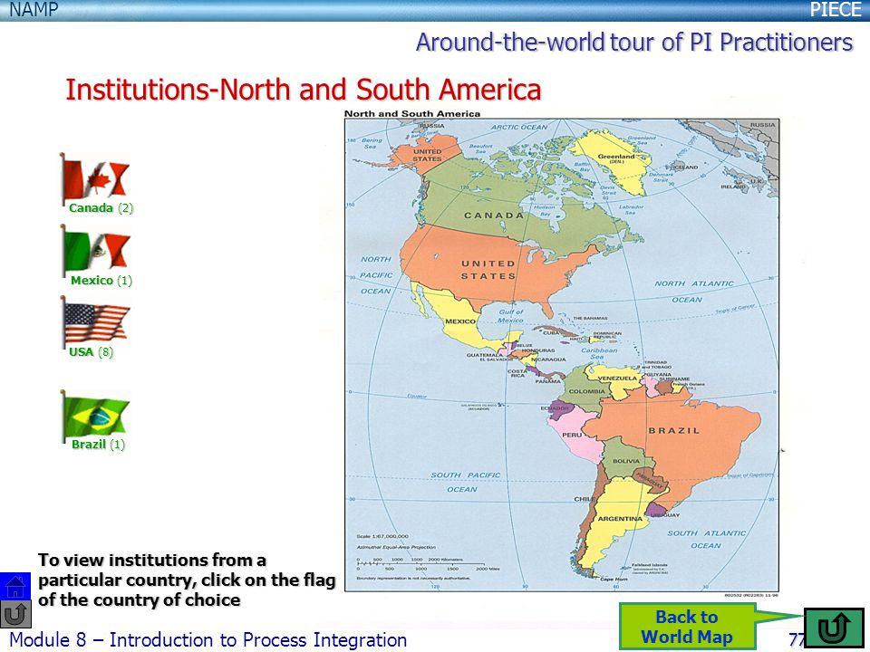 Institutions-North and South America