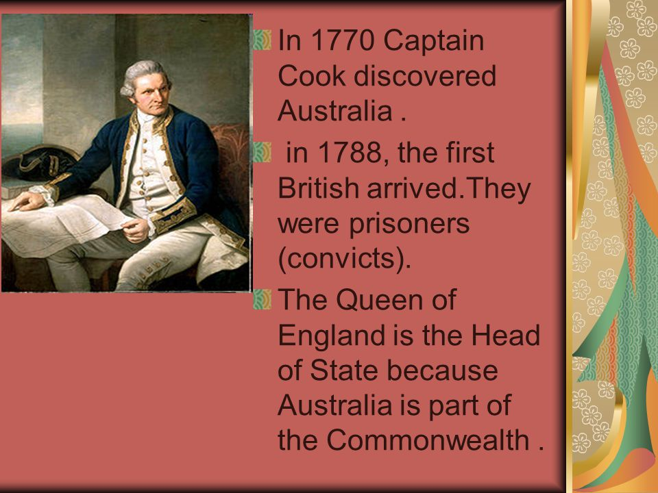 In 1770 Captain Cook discovered Australia .