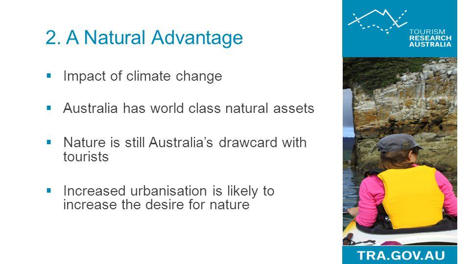 2. A Natural Advantage Impact of climate change