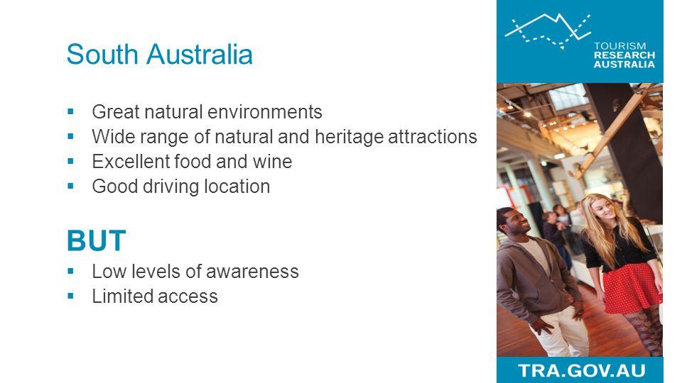 BUT South Australia Great natural environments