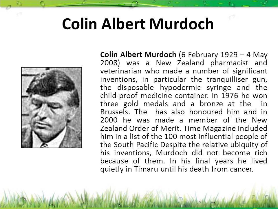 Colin Albert Murdoch