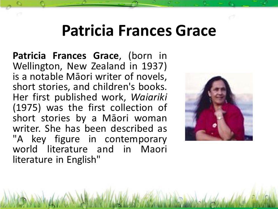 Patricia Frances Grace