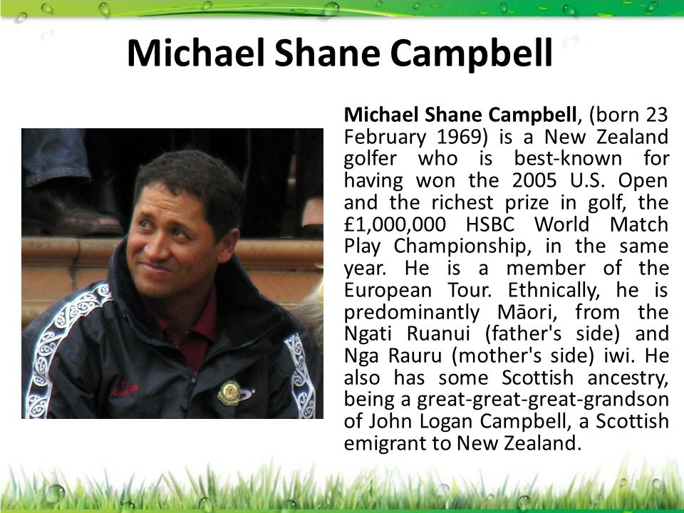 Michael Shane Campbell