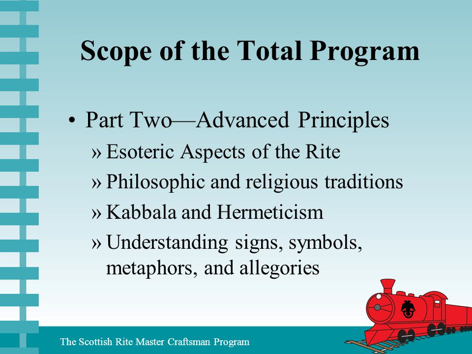 Scope of the Total Program