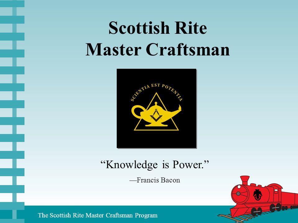 Scottish Rite Master Craftsman