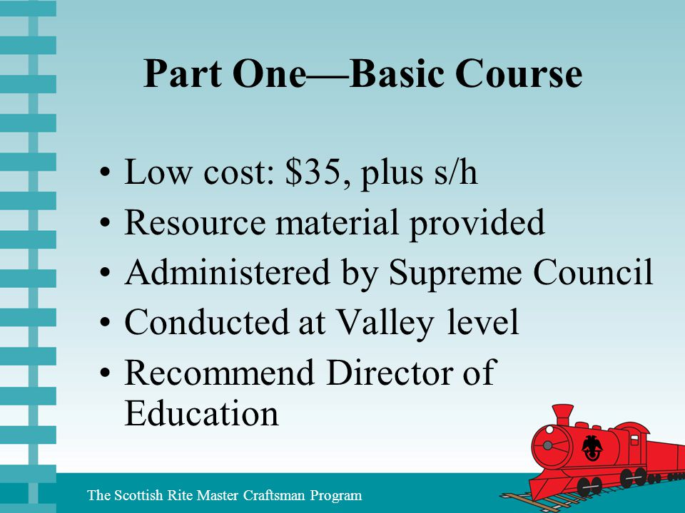 Part One—Basic Course Low cost: $35, plus s/h