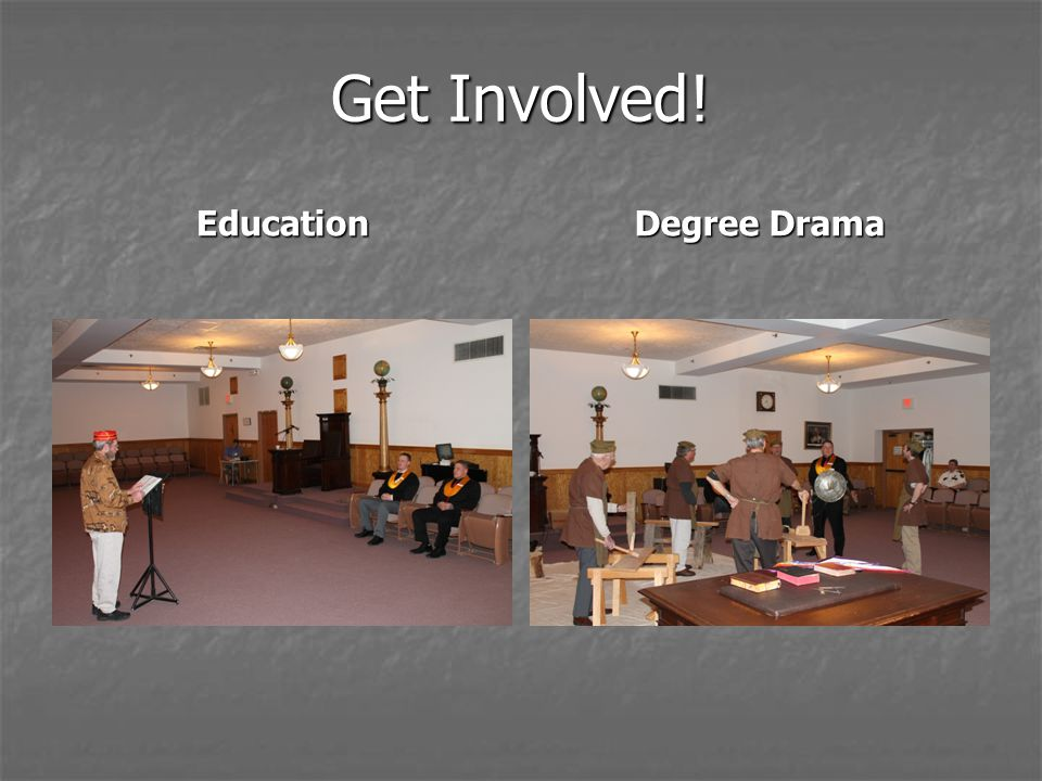 Get Involved! Education Degree Drama