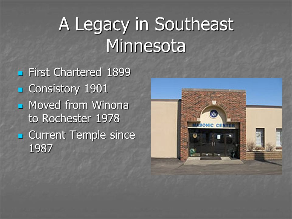 A Legacy in Southeast Minnesota