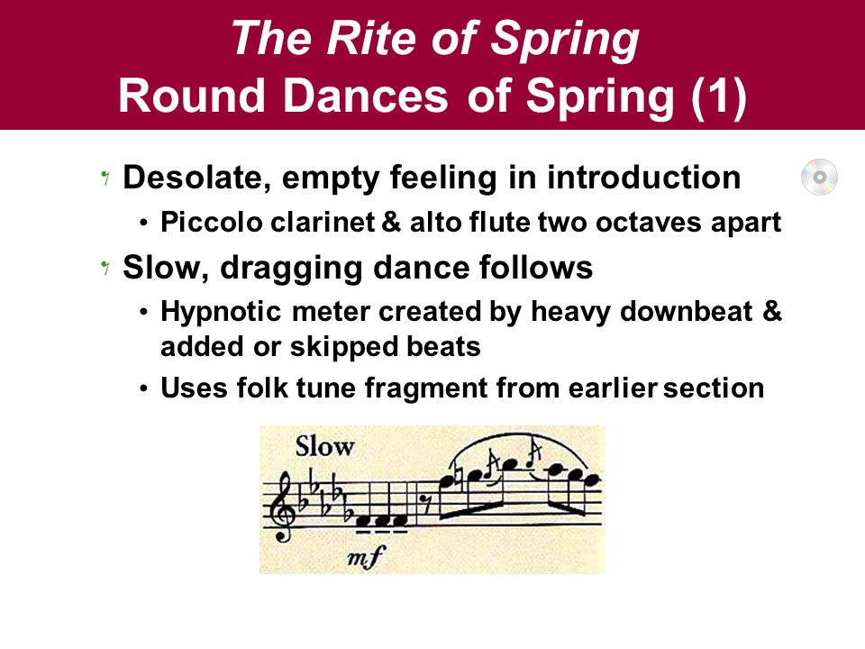 The Rite of Spring Round Dances of Spring (1)