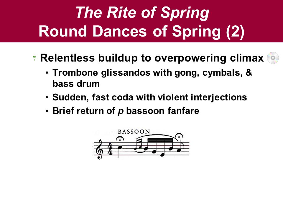 The Rite of Spring Round Dances of Spring (2)