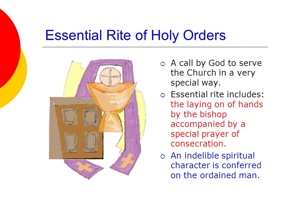 Essential Rite of Holy Orders