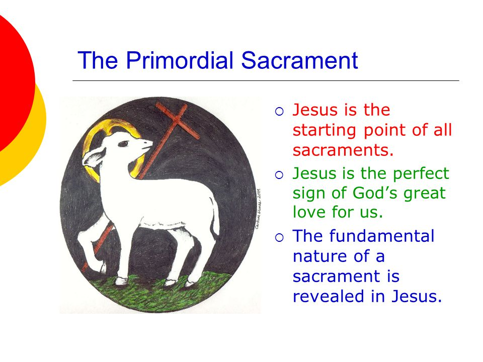 The Primordial Sacrament