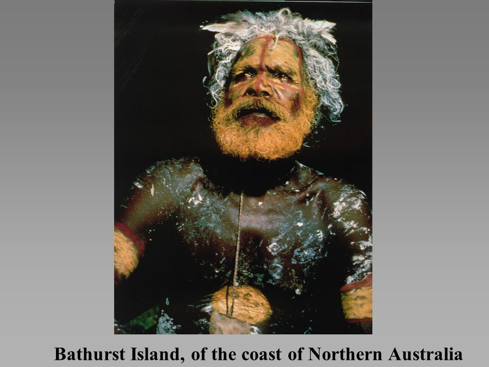 Bathurst Island, of the coast of Northern Australia
