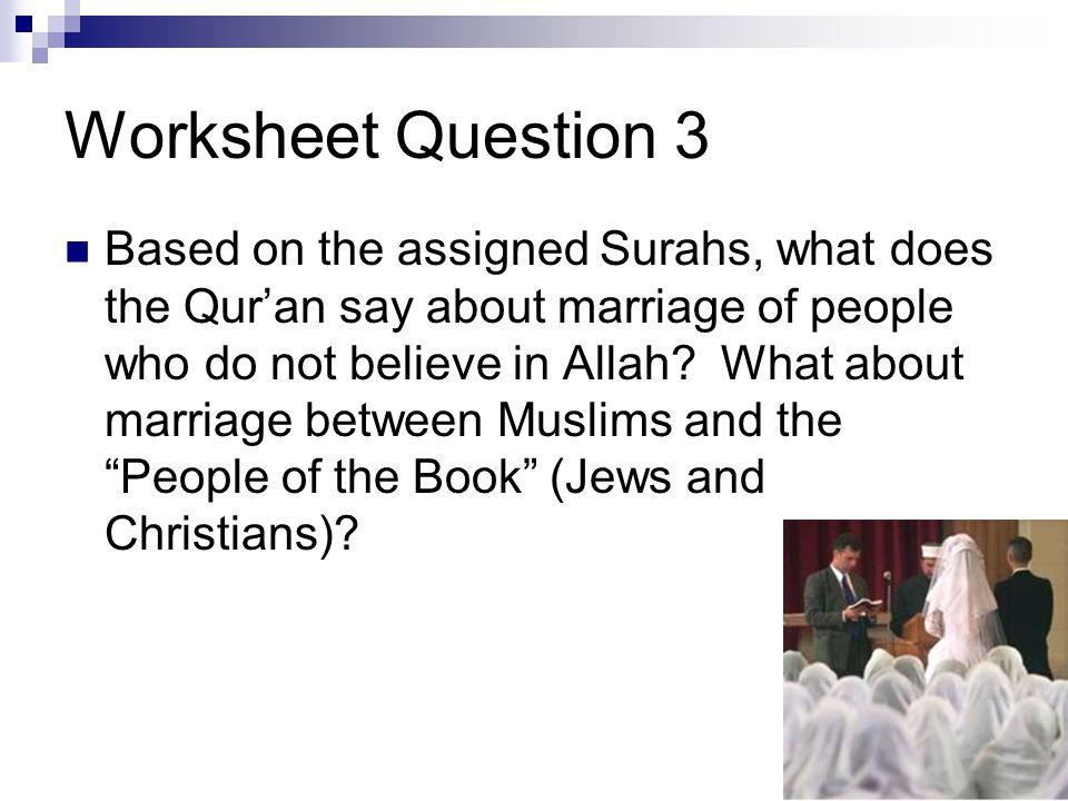 Worksheet Question 3