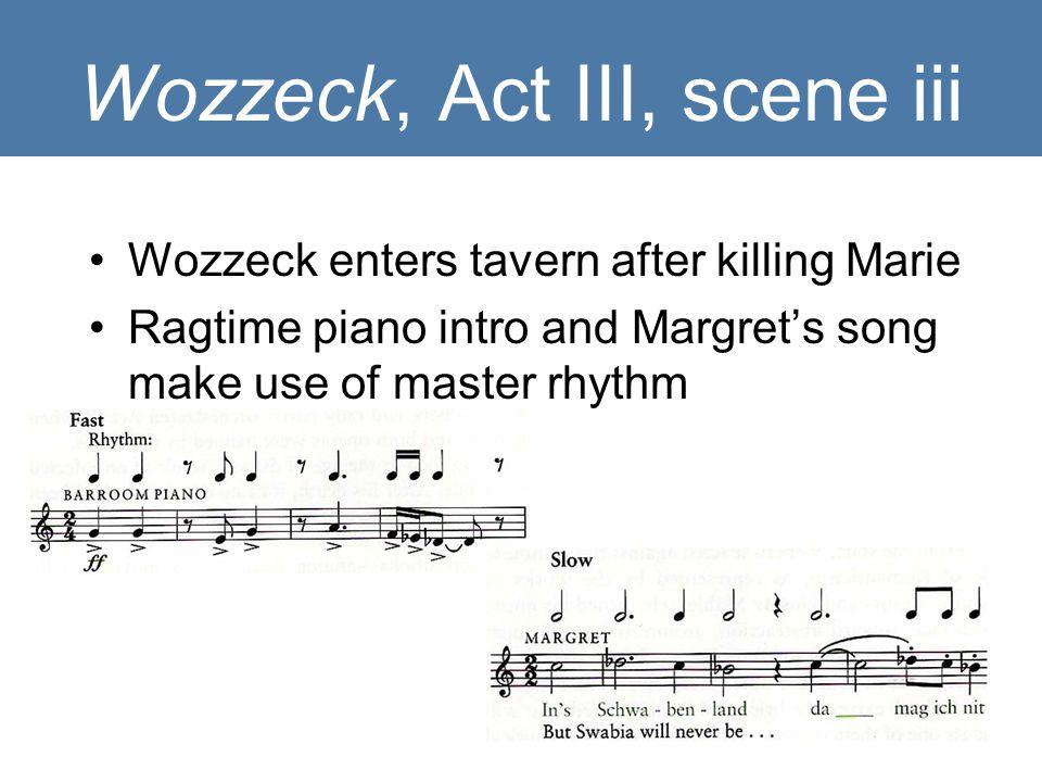 Wozzeck, Act III, scene iii
