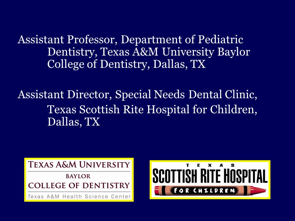 Assistant Professor, Department of Pediatric