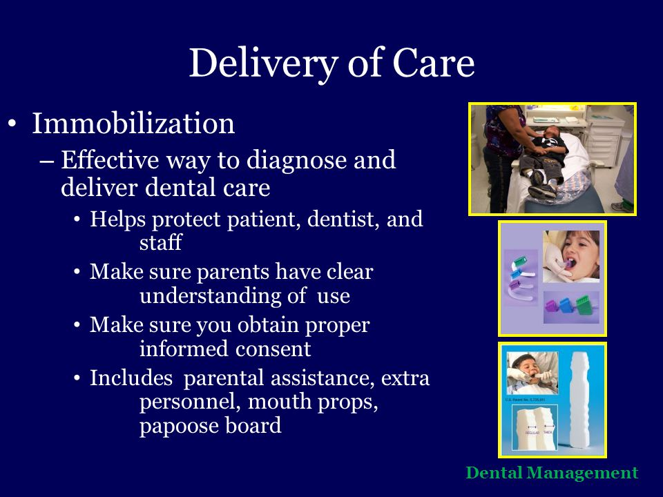 Delivery of Care Immobilization