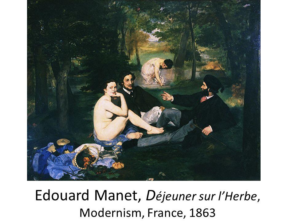 Edouard Manet, Déjeuner sur l'Herbe, Modernism, France, 1863