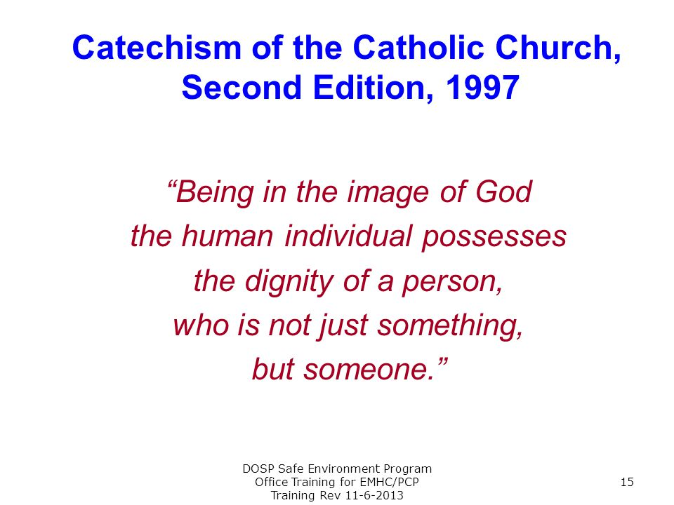 Catechism of the Catholic Church,
