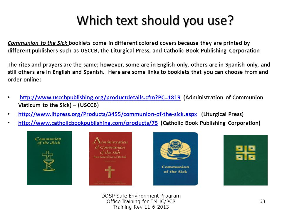 Which text should you use