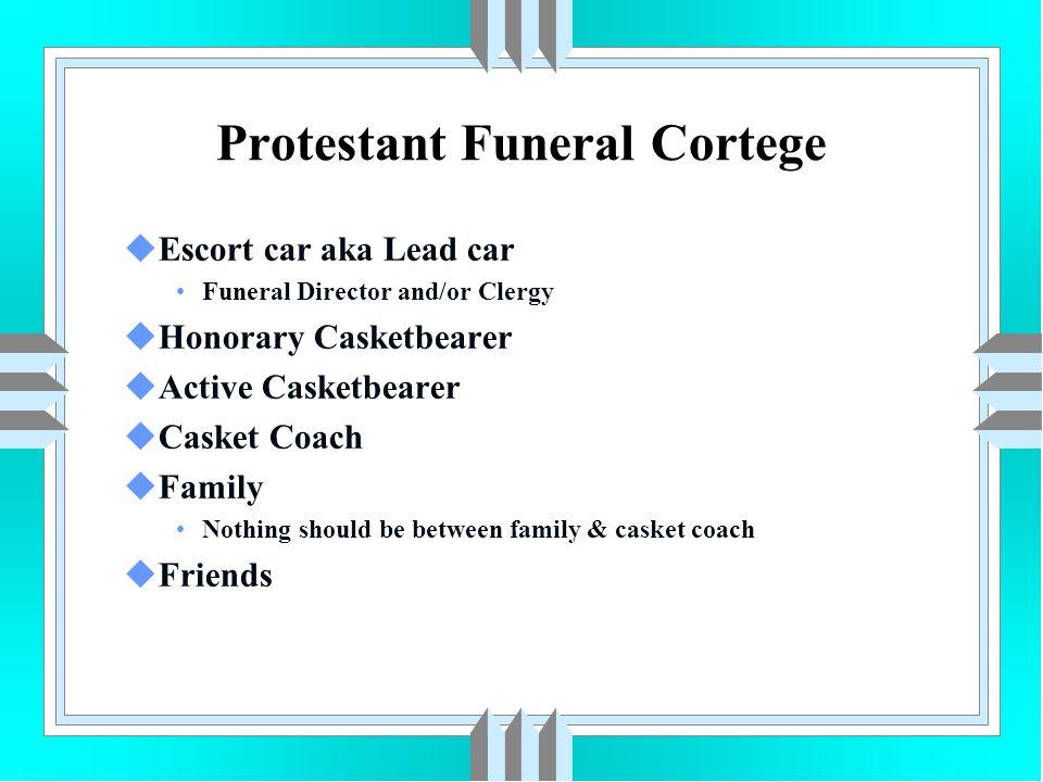 Protestant Funeral Cortege