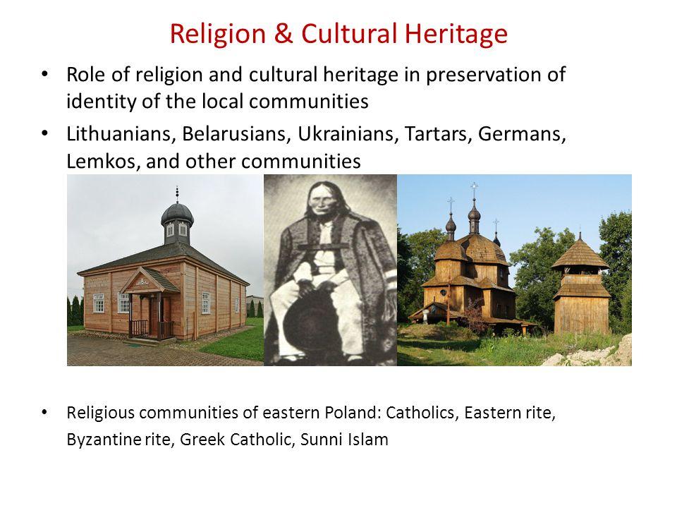 Religion & Cultural Heritage