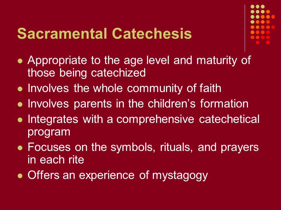 Sacramental Catechesis