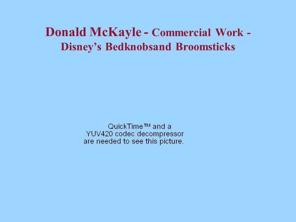 Donald McKayle - Commercial Work - Disney's Bedknobsand Broomsticks