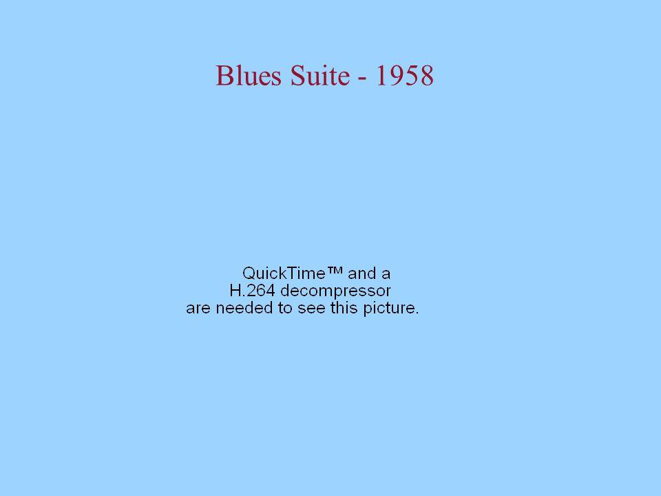 Blues Suite - 1958