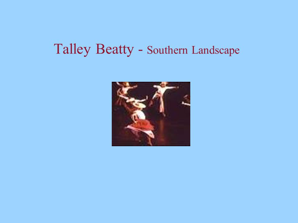 Talley Beatty - Southern Landscape