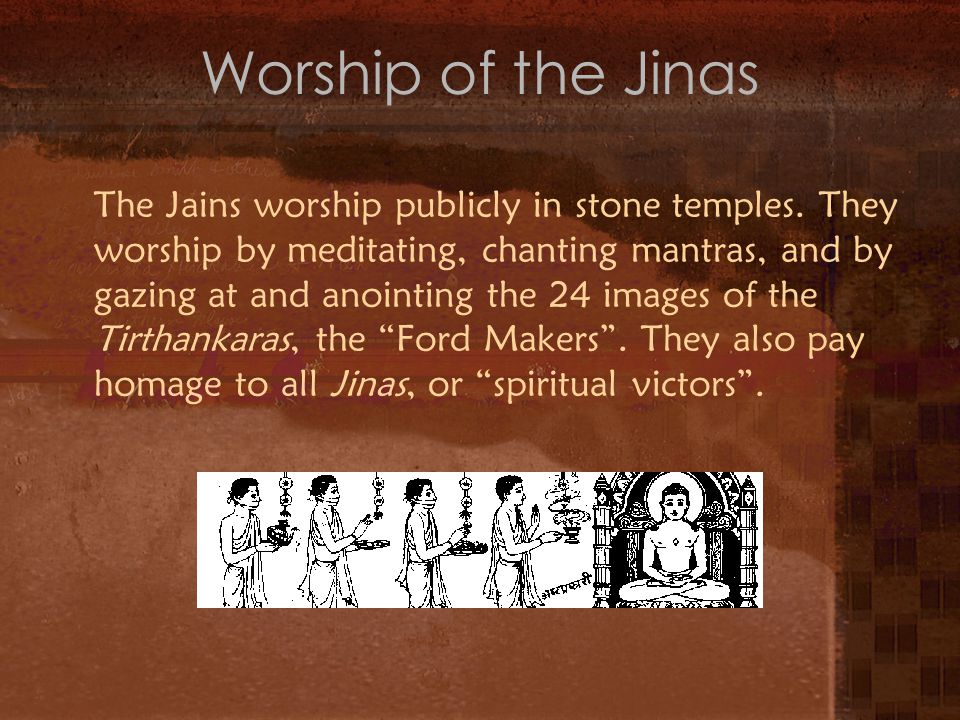 Worship of the Jinas