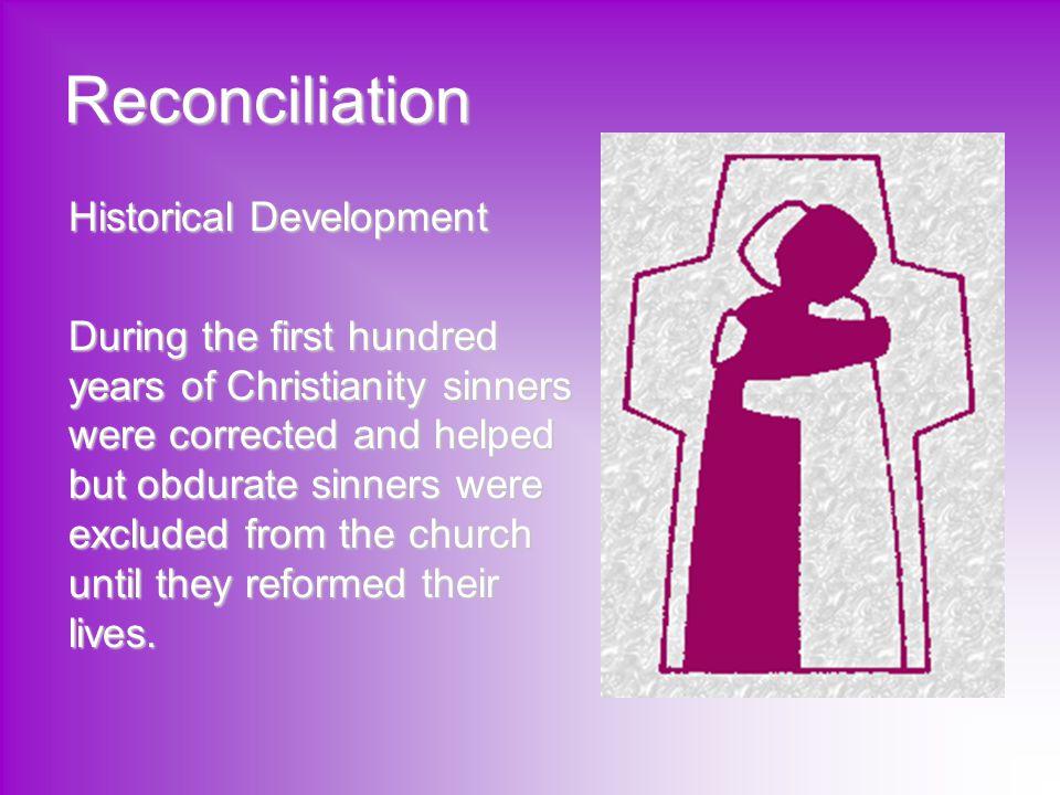 Reconciliation Historical Development