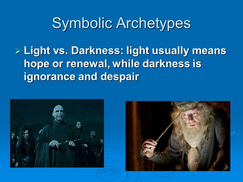 Symbolic Archetypes Light vs.
