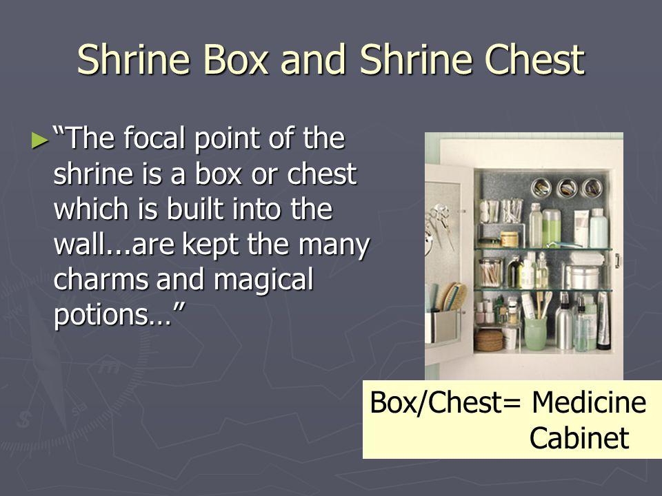 Shrine Box and Shrine Chest