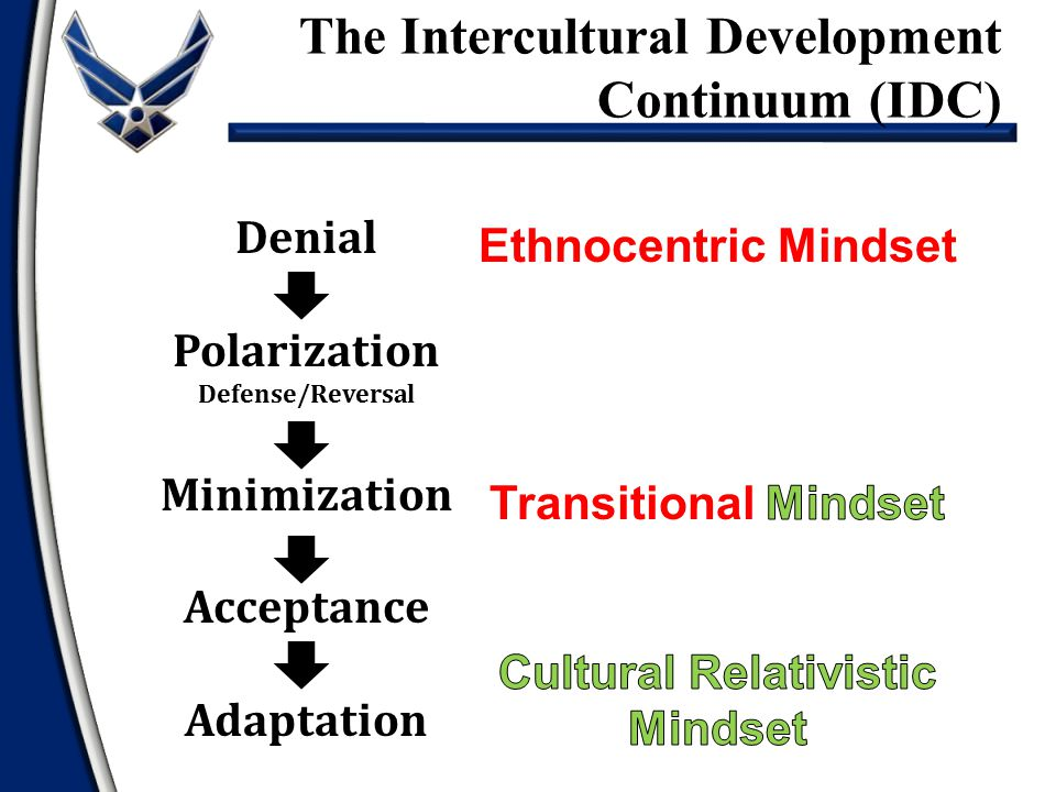 The Intercultural Development Continuum (IDC)