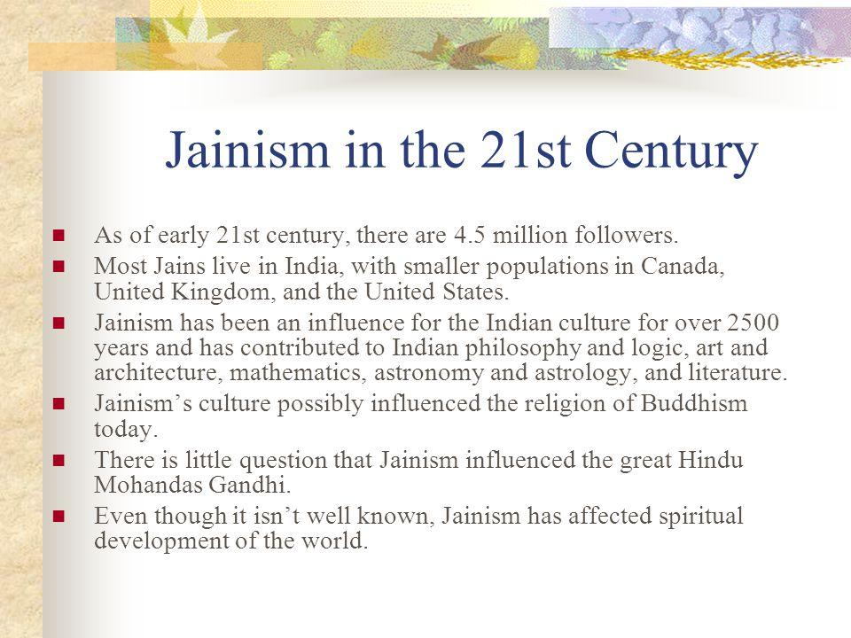Jainism in the 21st Century