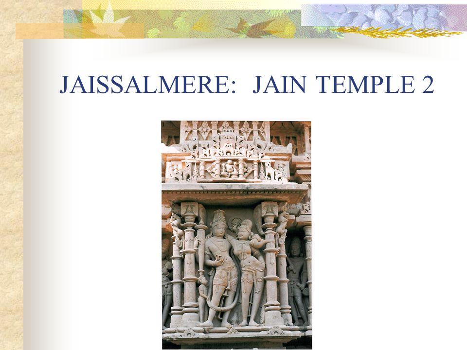JAISSALMERE: JAIN TEMPLE 2