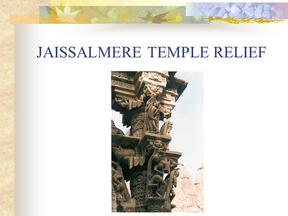 JAISSALMERE TEMPLE RELIEF
