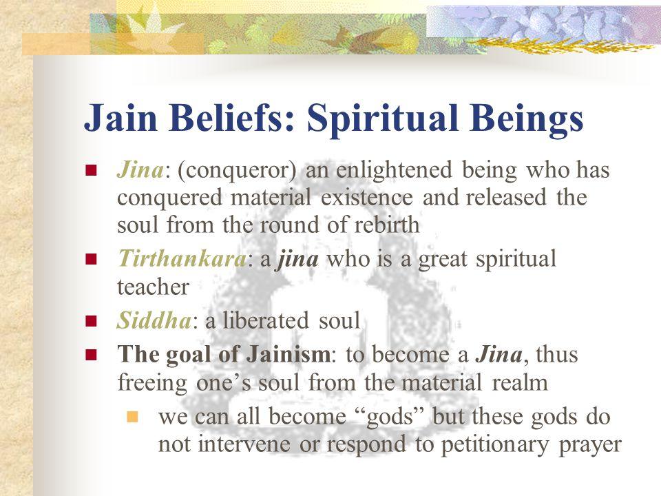 Jain Beliefs: Spiritual Beings