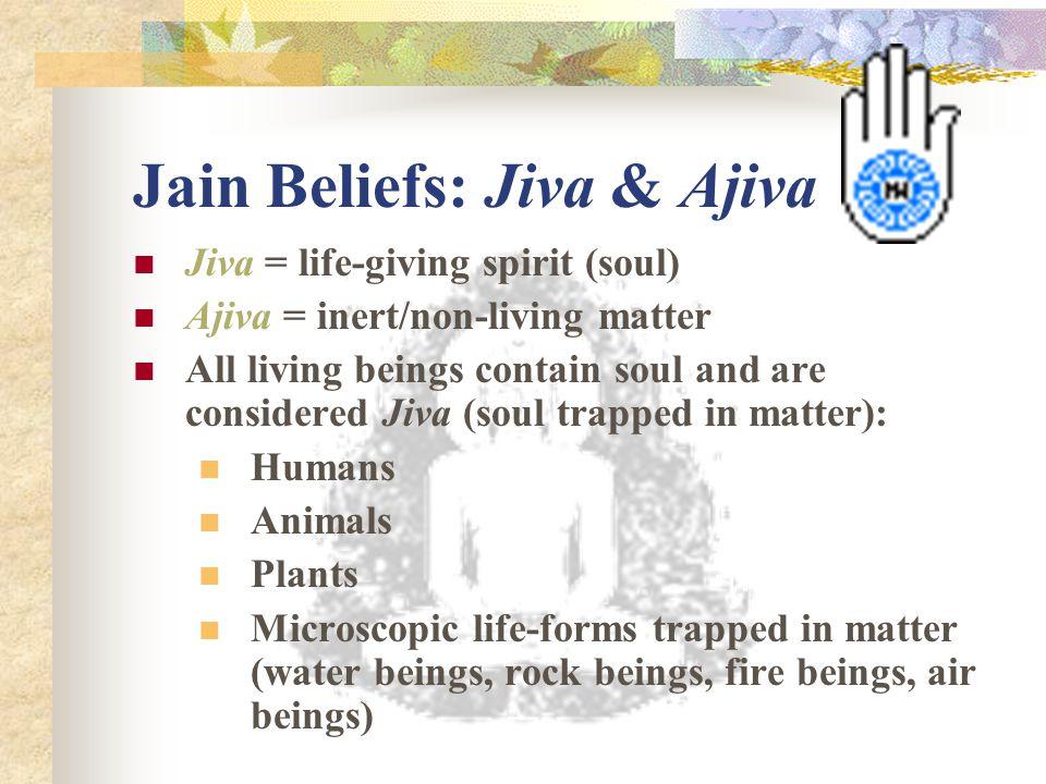 Jain Beliefs: Jiva & Ajiva