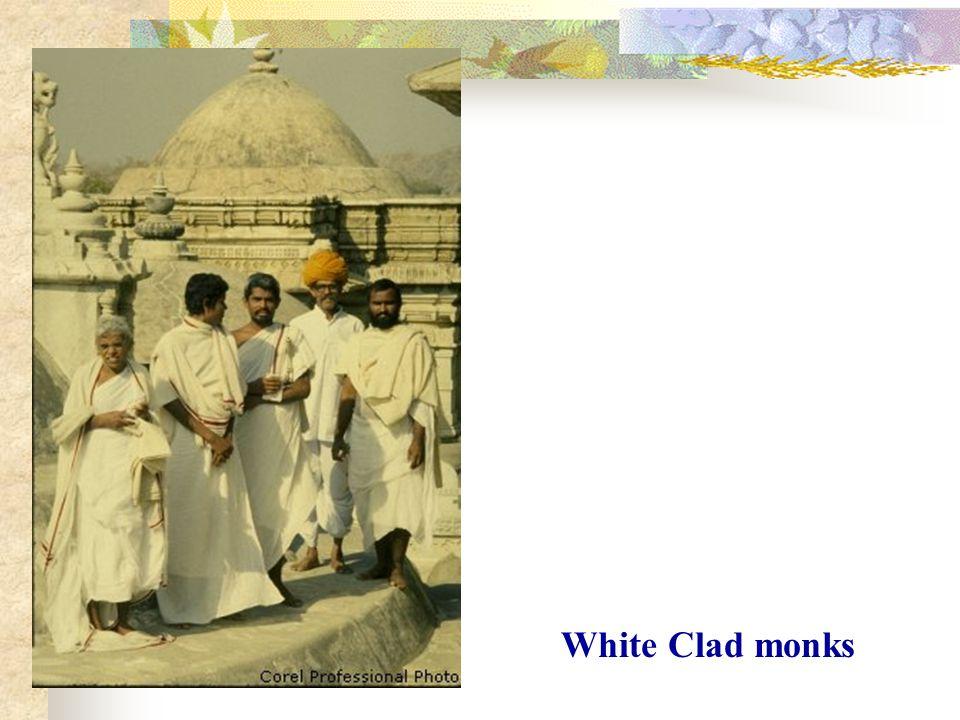 White Clad monks