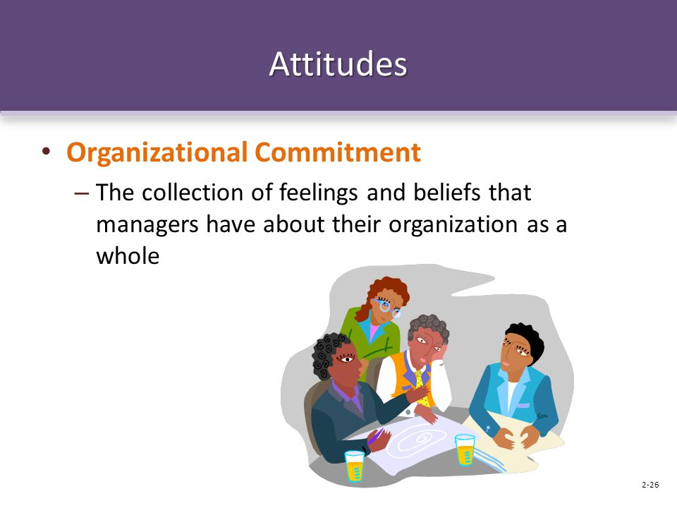 Attitudes Organizational Commitment