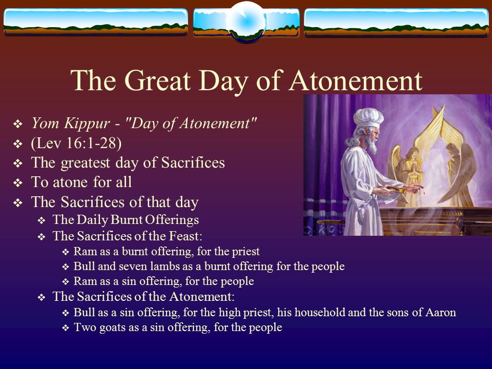 The Great Day of Atonement