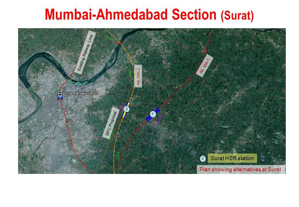 Mumbai-Ahmedabad Section (Surat)