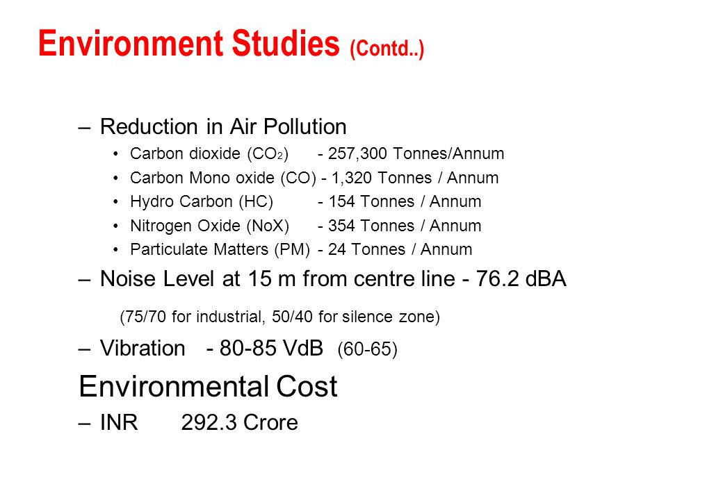 Environment Studies (Contd..)