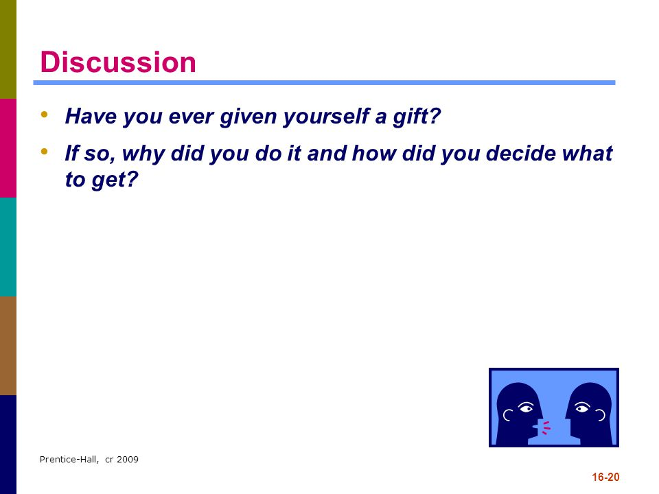 Discussion Have you ever given yourself a gift